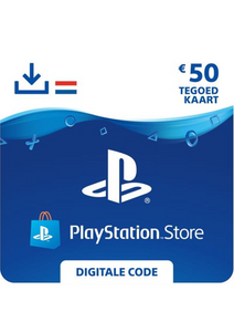 Playstation Giftcard 50 euro NL - PS4 Code