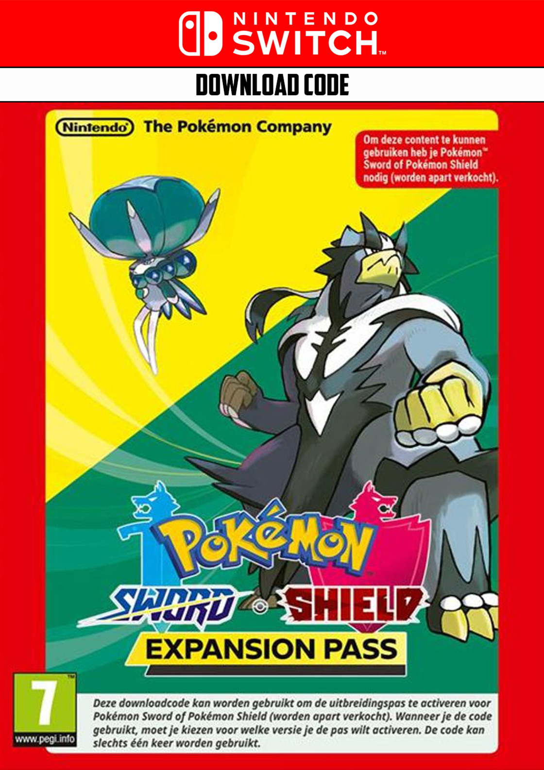 Pokemon Sword/Shield Expension Pass - Nintendo Switch Download