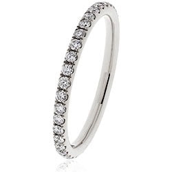 Diamond Eternity ring - DuttsonRocks