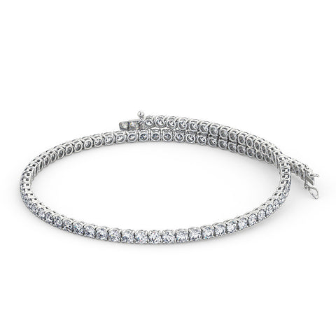 Diamond Tennis Bracelet (White Gold)