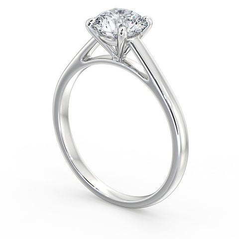 Classic Diamond engagement Ring - DuttsonRocks