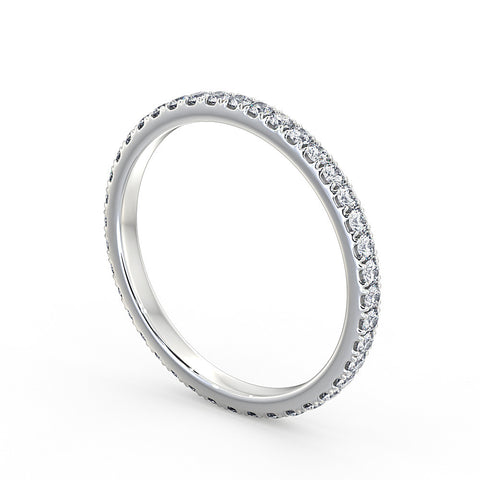 Diamond wedding Ring 2mm
