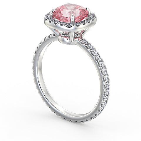 Pink Diamond Ring (Extremely Rare)