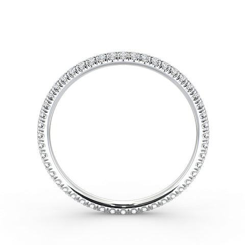 Diamond Wedding Ring 1.6mm