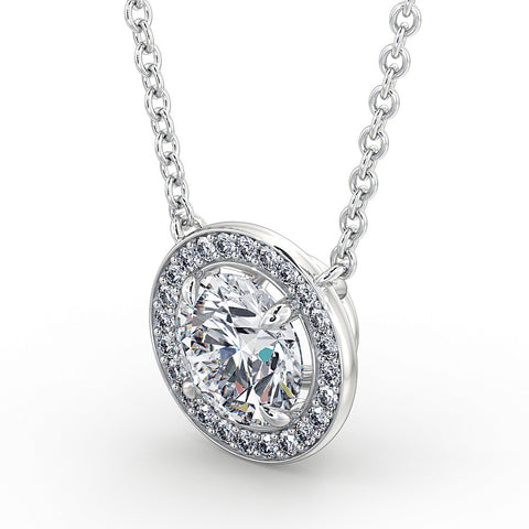 DuttsonRocks Vintage Diamond Pendant (White Gold)