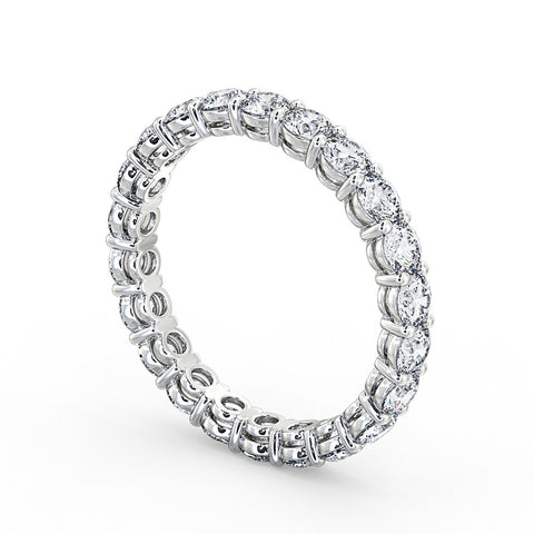 Claw Set Full Eternity Ring