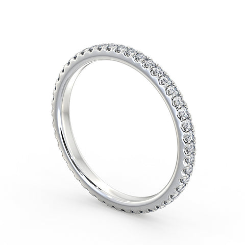 Diamond Wedding ring 1.9mm - DuttsonRocks