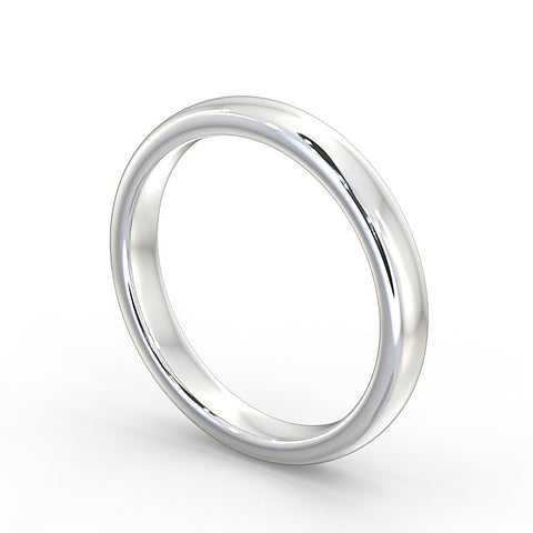 Platinum Wedding Ring 4mm - DuttsonRocks