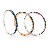 Black diamond stacking ring - DuttsonRocks