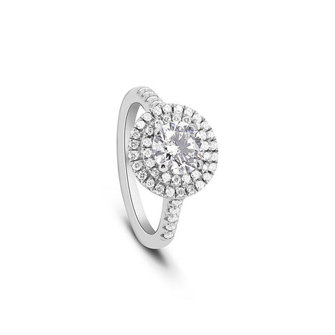 Diamond Circle 'of fire' ring