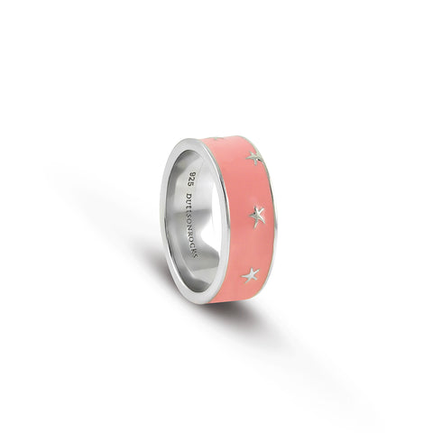 Coral 'Stars of the Sea' ring