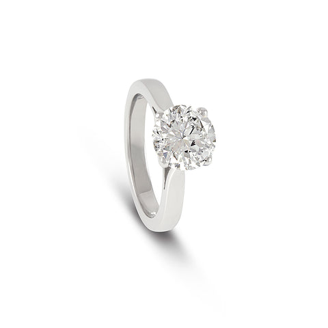 Round Brilliant Cut Diamond Ring - DuttsonRocks