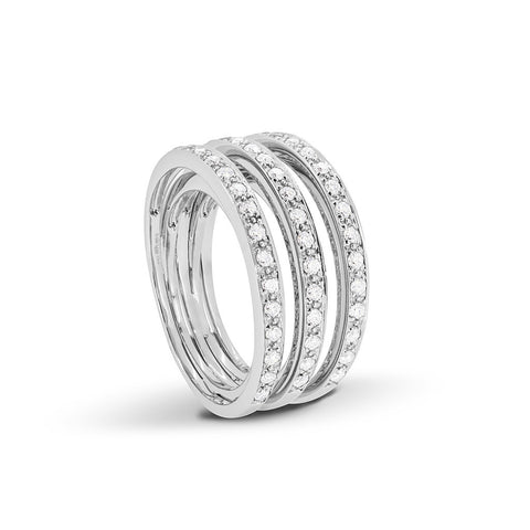 3 Tier split Diamond Ring - DuttsonRocks