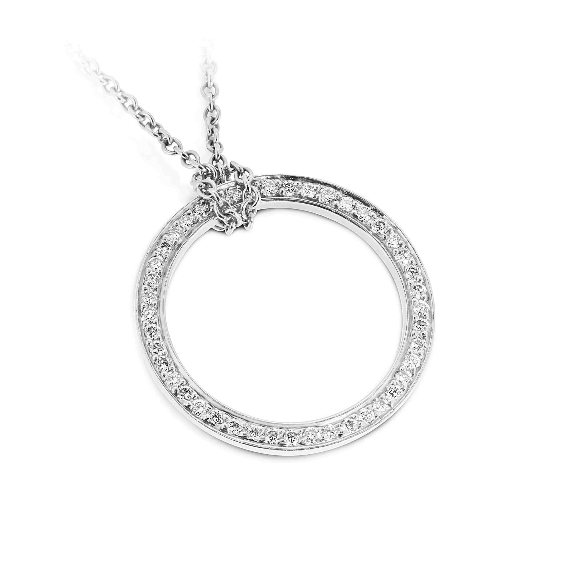 pendant infinity no product diamond necklace silver