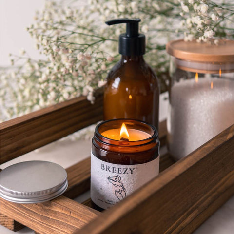 Add BREEZY to your bath time - 4 easy ways to practice self care