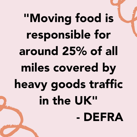 Shop Local UK - Food Miles are a real problem - 5 Steps to Become a More Ethically Conscious Consumer