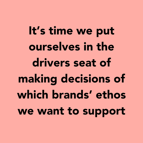 Conscious Consumer Guide - It's time we start making ethical consumer choices