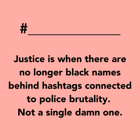 No was not justice, this was accountability - How To Support Black Lives Matter UK