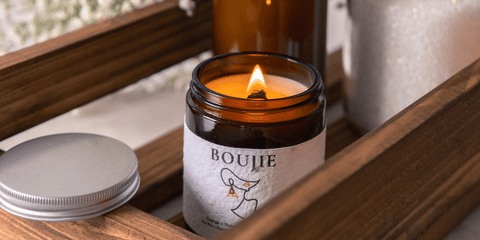 Boujie | selfmade candle | galentines