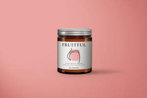 FRUITFUL Soy Wax Scented Candle - Orange, Mandarin and Bergamot