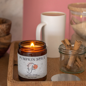 Load image into Gallery viewer, DIY Candle Pumpkin Spice UK Selfmade Candle