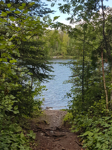Hazelwood Lake near Thunder Bay. Ontario