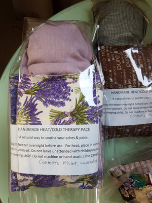 lavender heat/cold therapy pack