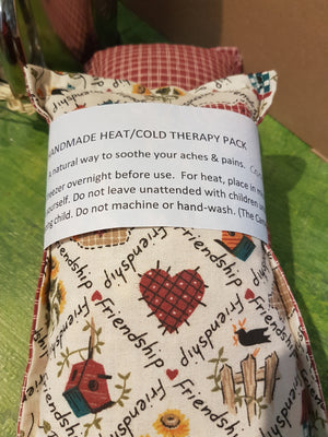 Open image in slideshow, friendship fabric heat therapy pack