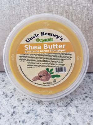 8 oz. Shea Butter - Uncle Benney's