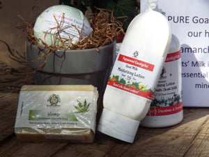 Silly Goats Peppermint eucalyptus Gift set