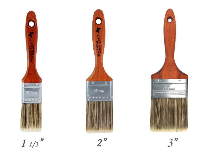 Cottage Paint Flat synthetic brush