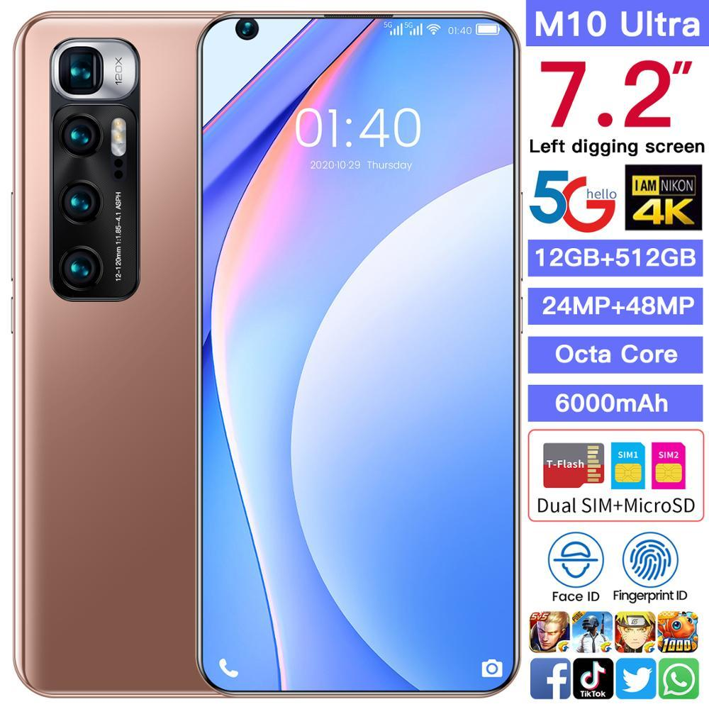 M10 Ultra SmartPhone - 7.2"