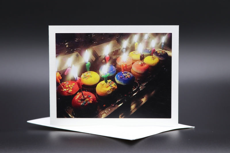 "Notecard for Kids ""Birthday Flames"""