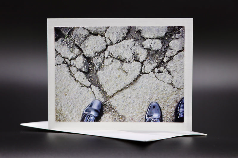 "Notecard for Kids ""Heart in the Asphalt"""