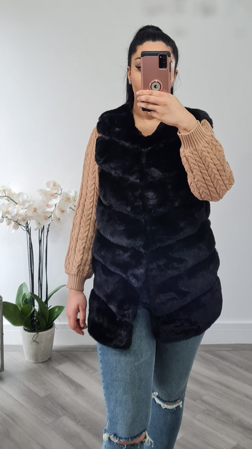 Super soft Fur gilet