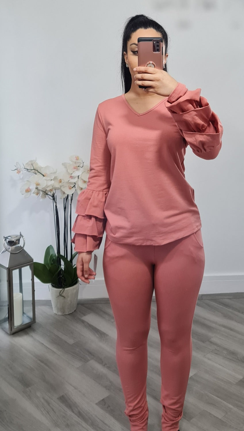 Loungewear two piece set