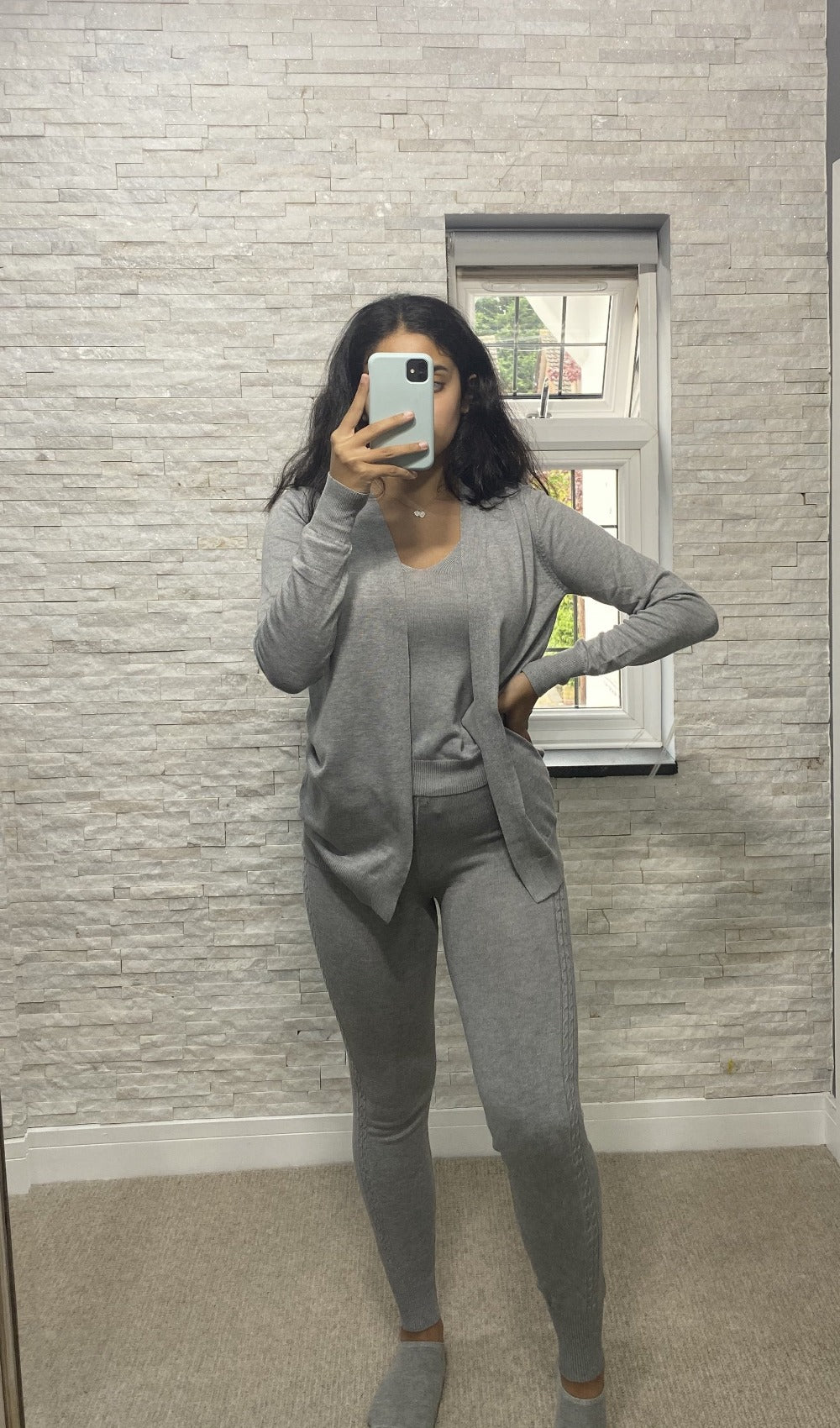 Three piece loungewear set