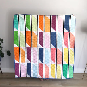 Striped Jewel Pre-Cut Lap Quilt Kit by Angelina Payton