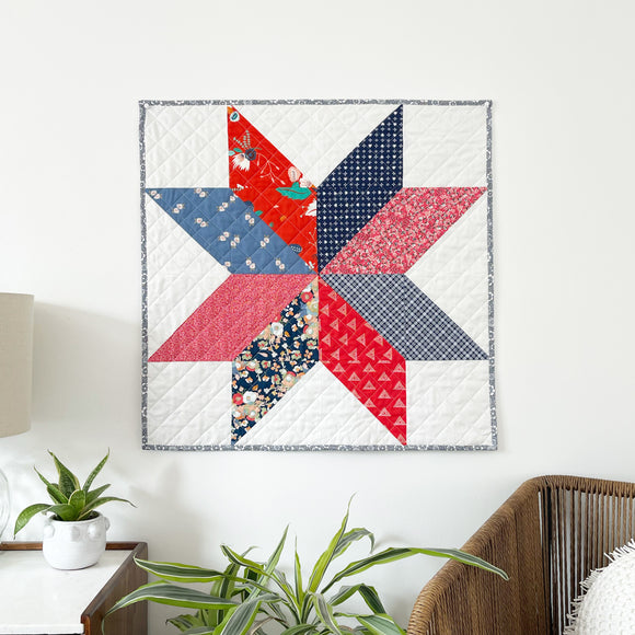 Patriotic Stellar Mini Pre-Cut Quilt Kit