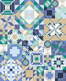 """MY FAVORITE COLOR IS MODA"" Complete Block-of-the-Month PRE-CUT Quilt Kit with FREE SHIPPING"