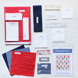 Firecracker Wall Hanging Pre-Cut Quilt Kit by Pen & Paper Patterns