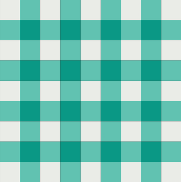 Gingham Baby Pre-Cut Quilt Kit