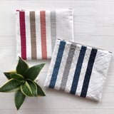 Striped Zipper Pouch Pre-Cut Kit