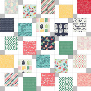 Twisted Nine Baby Pre-Cut Quilt Kit
