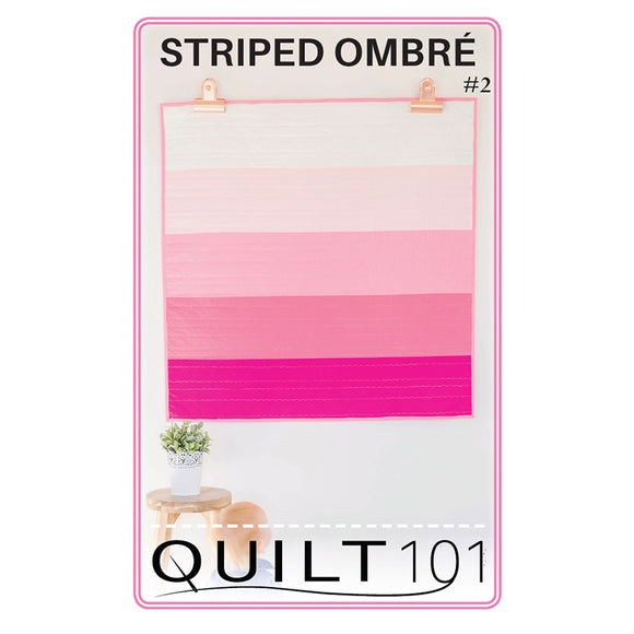 Striped Ombre Digital Pattern