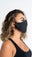 Flexible Black Mask