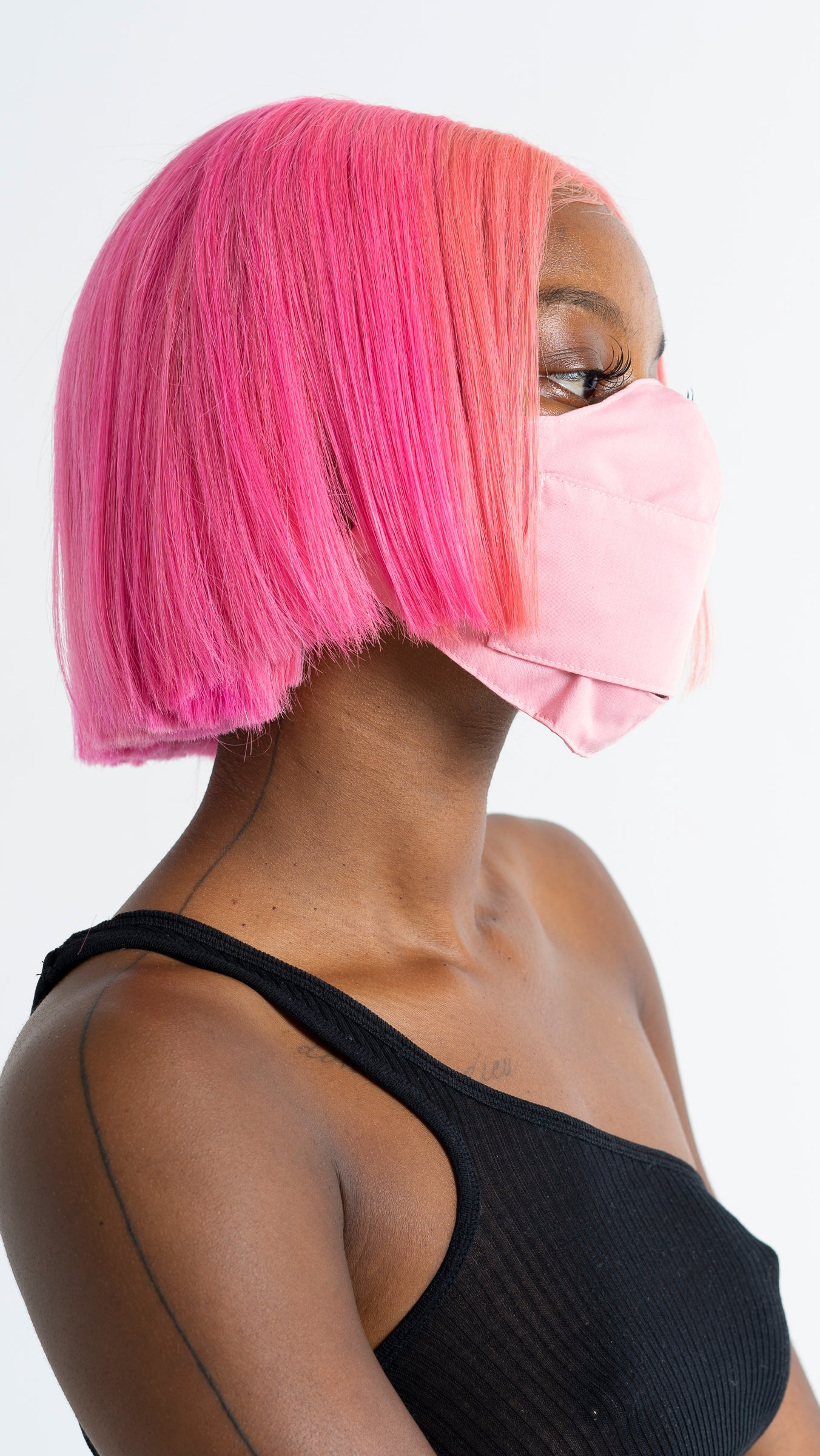 Flexible Pink Mask
