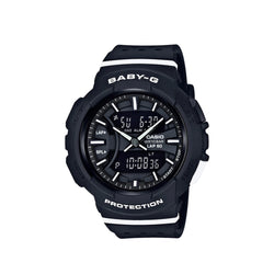 Casio Baby-G Women's Analog Digital Black Resin Strap Watch BGA-240-1A1DR