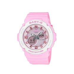 Casio Baby-G Women's Pink AnaDigi BGA-270-4ADR Resin Strap Watch