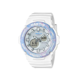Casio Baby-G Women's White AnaDigi BGA-270M-7ADR Resin Strap Watch